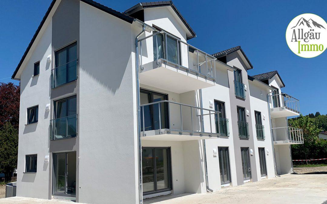 Exklusive, barrierefreie Erdgeschoßwohnung mit Terrasse und Garten in Wolfertschwenden