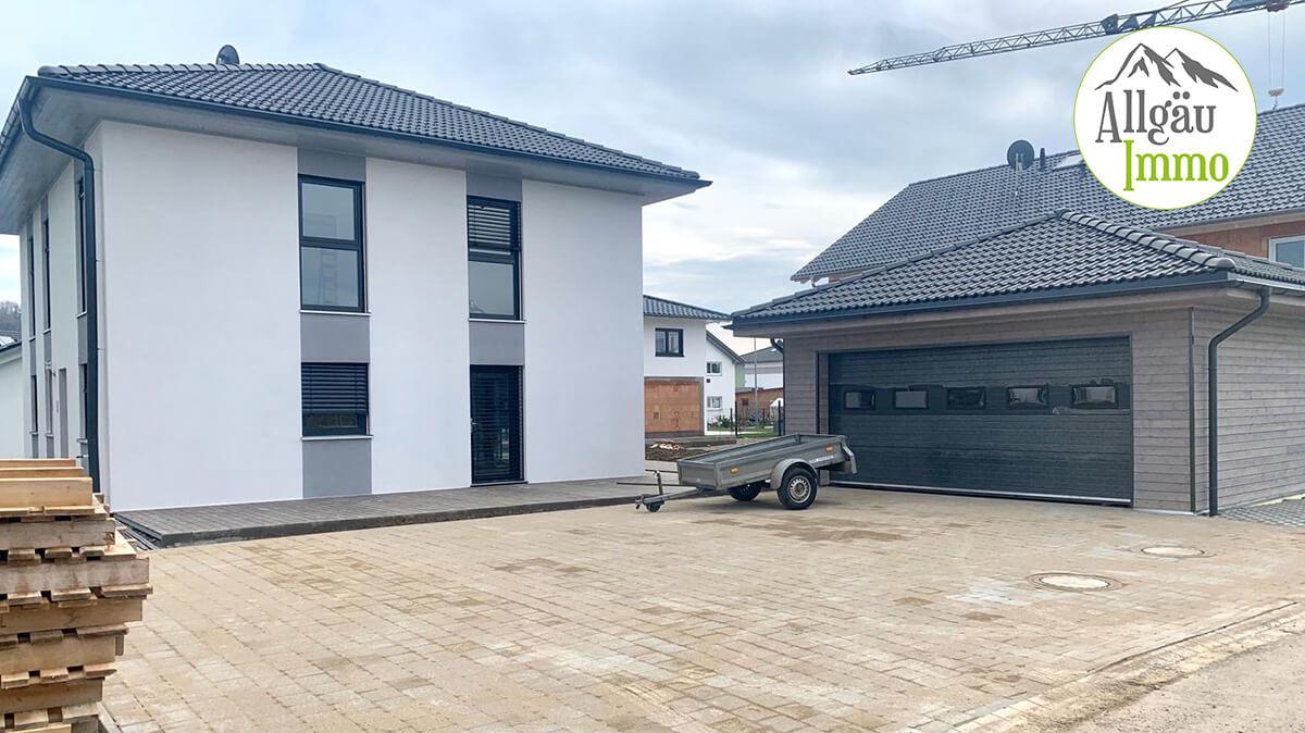 Einfamilienhaus aktive Verkaufsezeit 1 Tag - bis zur Beurkundung bzw. Fertigstellung 4 Wochen