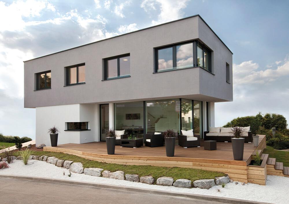 Kampa Haus Bauweise Kubos