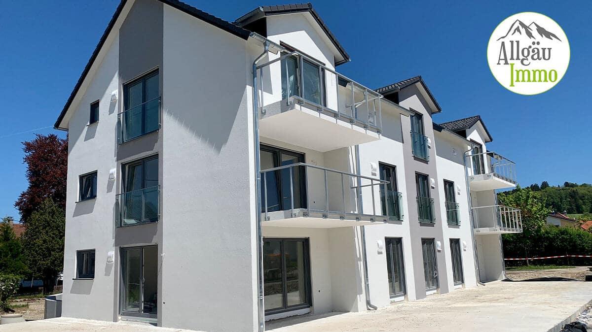 Exklusive, barrierefreie Erdgeschoßwohnung mit Terrasse und Garten in Wolfertschwenden-2