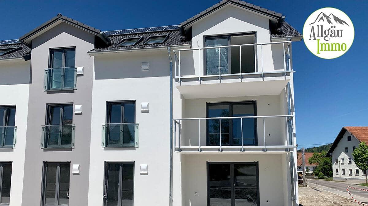 Moderne, barrierefreie Dachgeschoßwohnung der Extraklasse in Wolfertschwenden-2