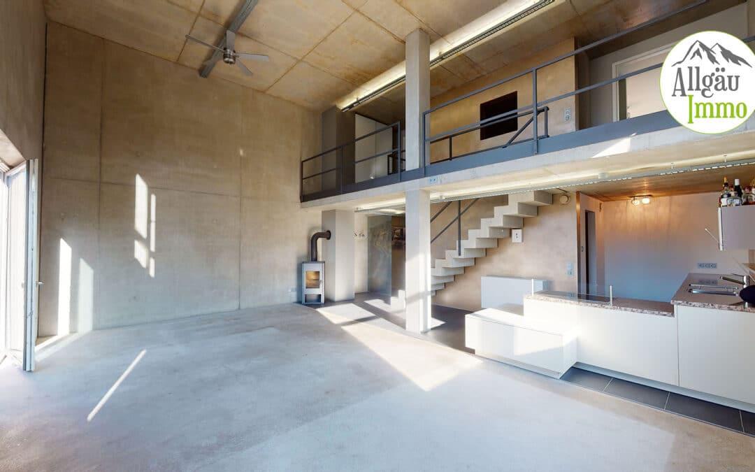 Fantastische Loft-Wohnung in zentraler Lage in Memmingen zu vermieten