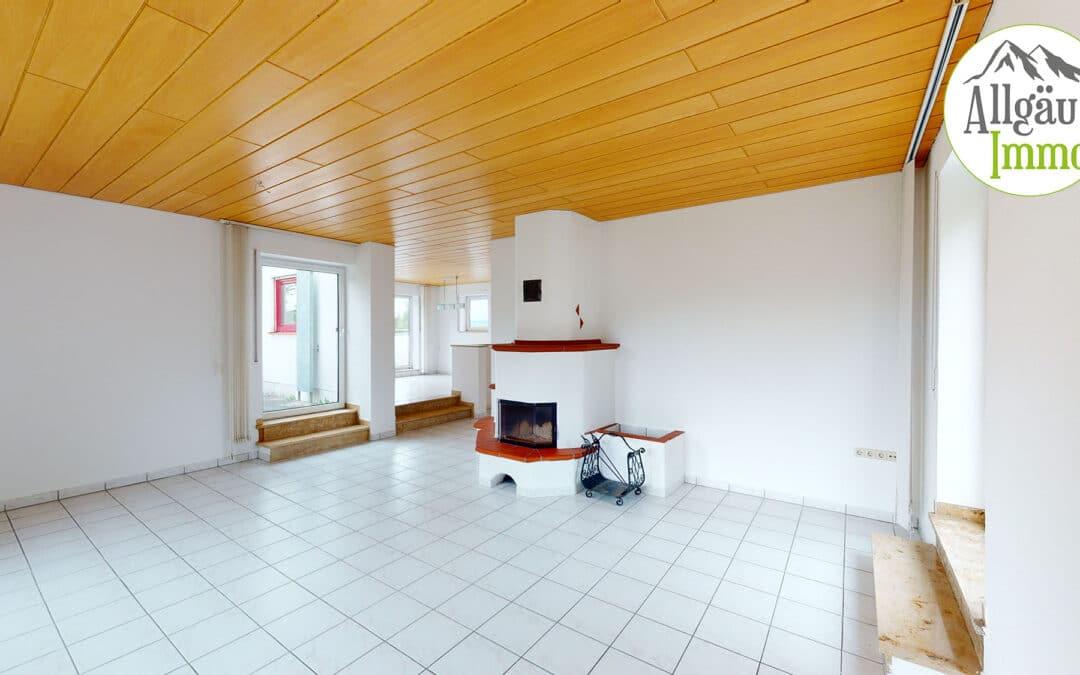 Großzügige Wohnung mit interessantem Hauscharakter in Krumbach