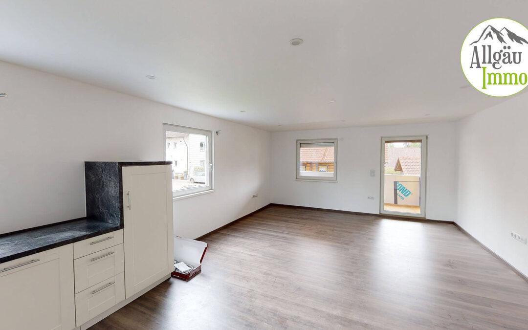 Helle 3 Zimmer Maisonette Wohnung in Woringen zu vermieten